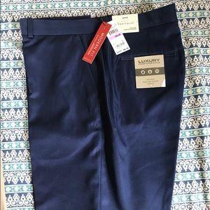 Perry Ellis Navy Suit Pants